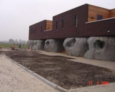 """Terreininrichting kinderopvangcentrum  """"Twinkeling"""" te Oostrum"""